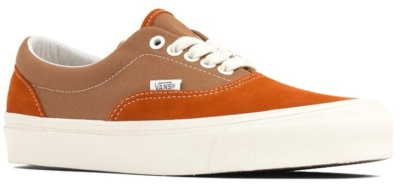 Orange And Brown Vault By Vans Sneakers