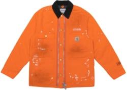 Orange Heron Preston X Carhartt Wip Jacket