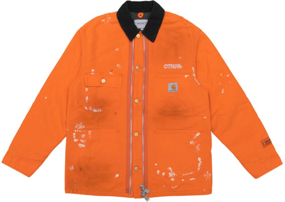 Orange Heron Preston X Carhartt Wip Jacket