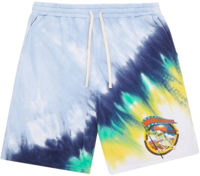Ovadia And Sons Not Fade Away Tie Dye Shorts