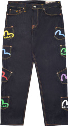Evisu x Palace Indigo Multi-Pocket Jeans