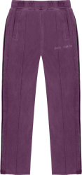 Palm Angel Purple Garment Dyed Track Pants