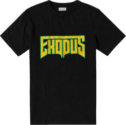 Exodus Print Black T-Shirt