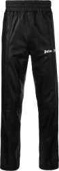 Palm Angels Black Leather Trackpants