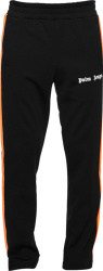 Palm Angels Black Orange Trackpants