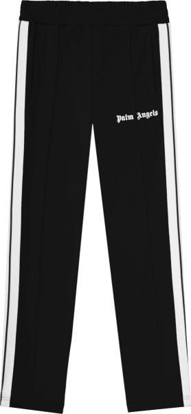 Palm Angels Black Track Pants