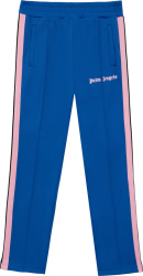Palm Angels Blue Pink Track Pants