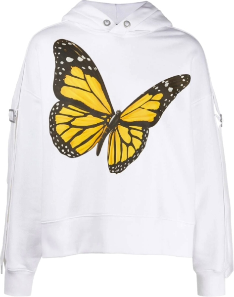 Palm Angels Butterlfy Hoodie
