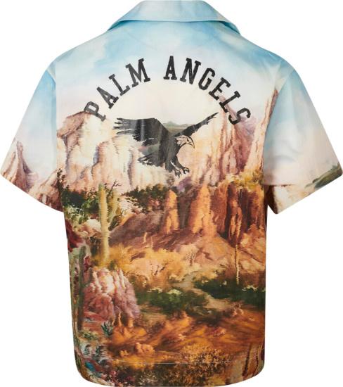 Palm Angels Canyon Print Shirt