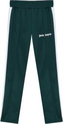 Palm Angels Dark Green Track Pants