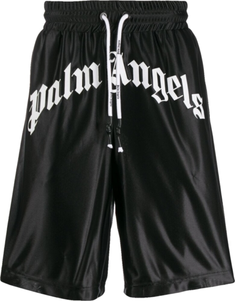Palm Angels Front Logo Track Shorts