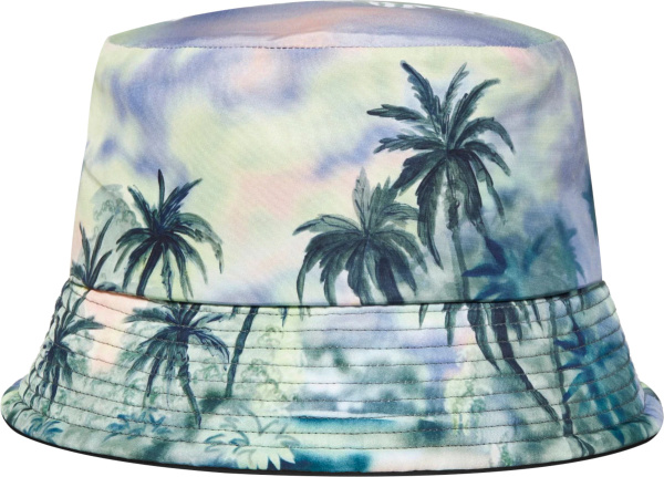 Palm Angels Multicolor Palm Tree Bucket Hat