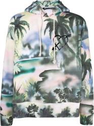Palm Angels Paradise Print Hoodie