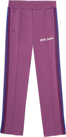 Palm Angels Purple Grape Track Pants