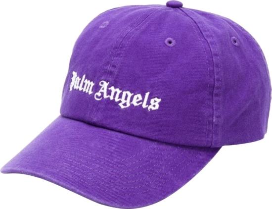 Palm Angels Purple Hat