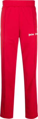 Palm Angels Red Trackpants
