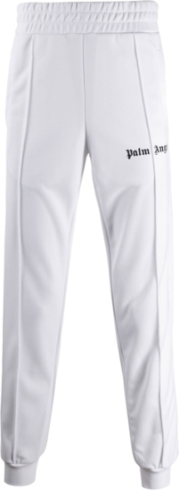 Palm Angels White Track Pants
