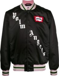 Palm Angels x Ice Cream Black Bomber Jacket