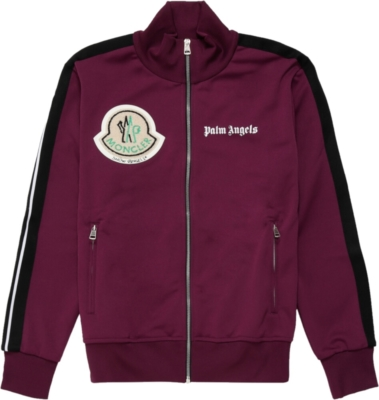 Palm Angels X Moncler Purple Track Jacket