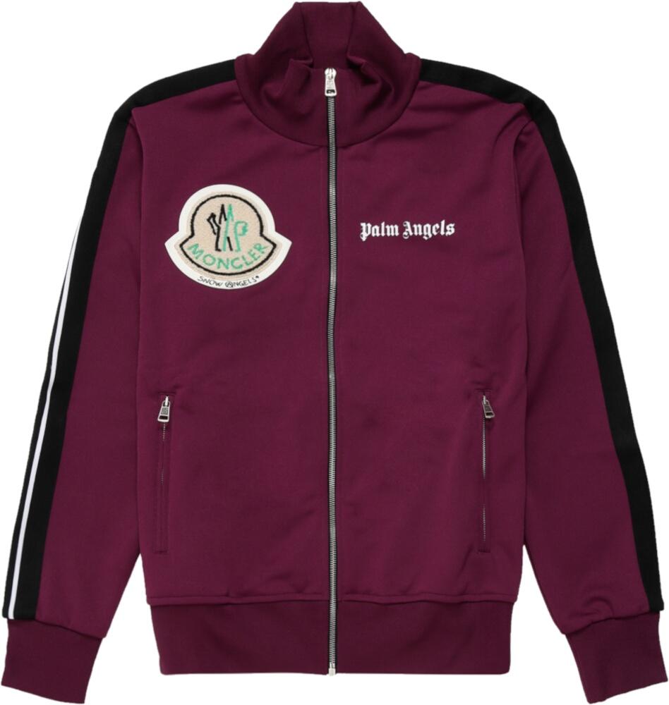 Palm Angels X Moncler Purple Track Jacket