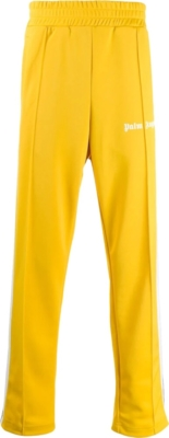 Palm Angels Yellow Track Pants