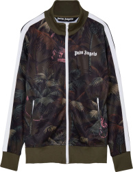 Palm Angles Jungle Print Track Jacket