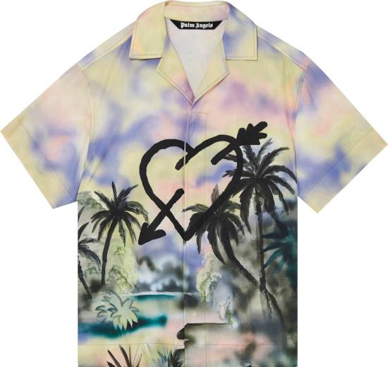 Palm Angles Multicolor Paradise Shirt