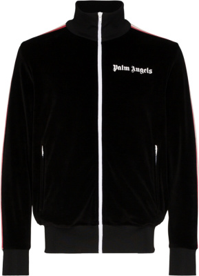 Palm Angles Multicolor Track Jacket Black Chenielle