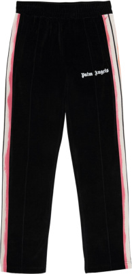Palm Angles Multicolor Trackpants Black Chenielle