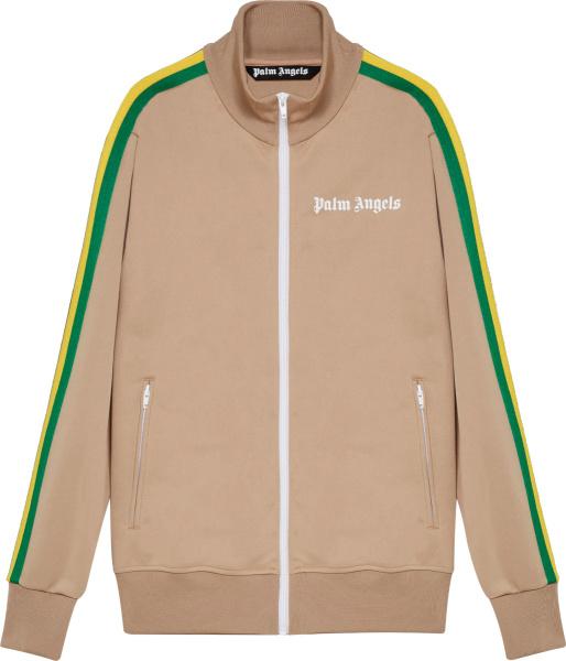 Palm Angles Nougat Track Jacket