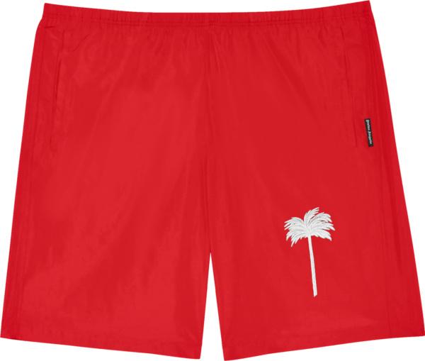 Palm Angles Red Palm Tree Swim Shorts