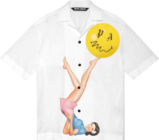 Palm Angles White Shirt