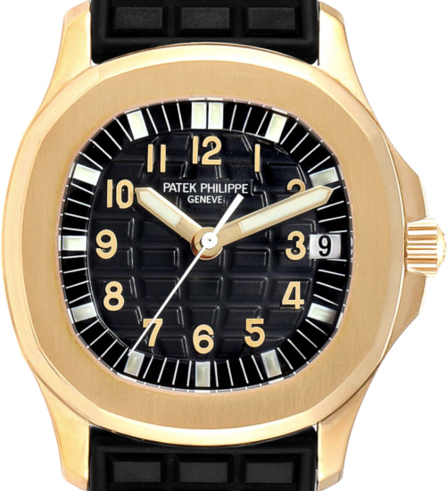 Patek Philippe Gold And Black Watch