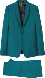 Paul Smith Teal Two Button Kensington Suit