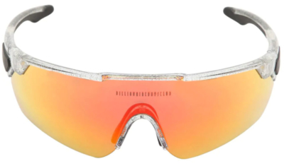 Pharrell Clear Sunglasses With Sunburst Frames