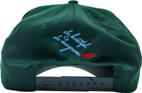 Phelit La Dark Green Detroit Tigers Wings Halo Hat