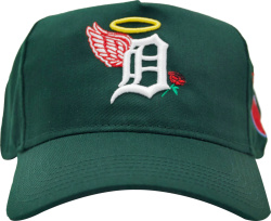 Green Detroit 'SBSD' Hat