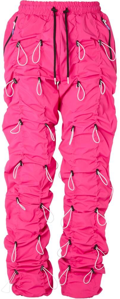 Pink Bungee Cord Pants