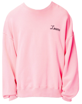 Pink Lovers Sweatshirt Worn By A Boogie