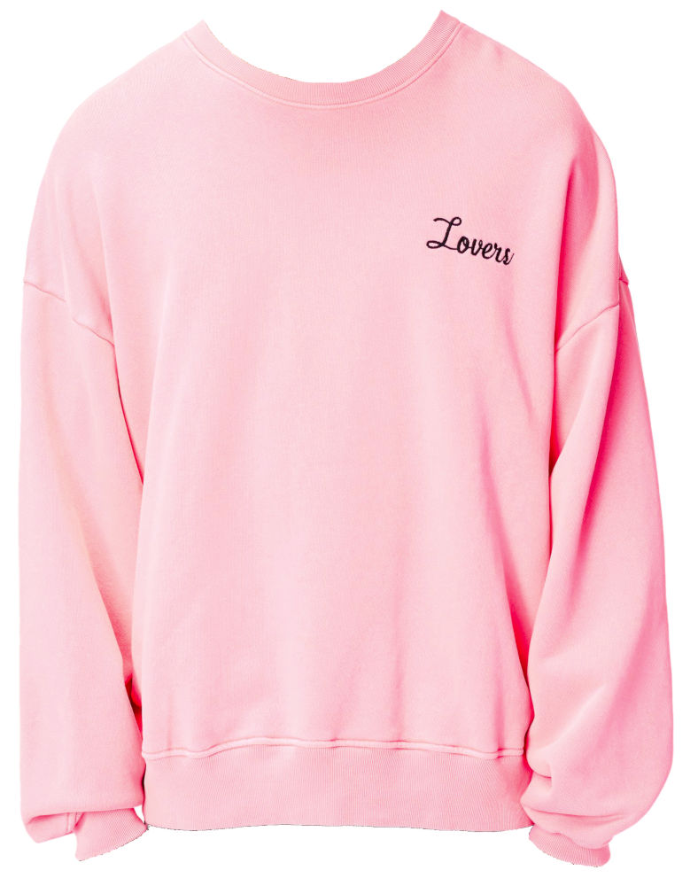Pink Lovers Sweatshirt Worn By A Boogie