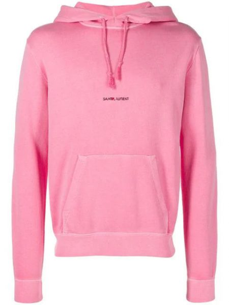 Pink Saint Laurent Hoodie Worn By Zaytoven In Chie Keefs Music Video For Spy Kids