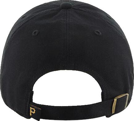 Pittsburgh Pirates Black Yellow Adjustabla Hat