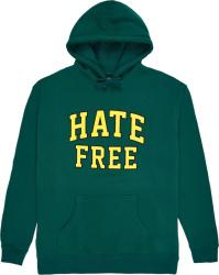Pleasures Green Hate Free Hoodie