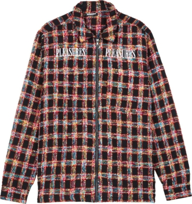 Pleasures Multicolor Check Shirt