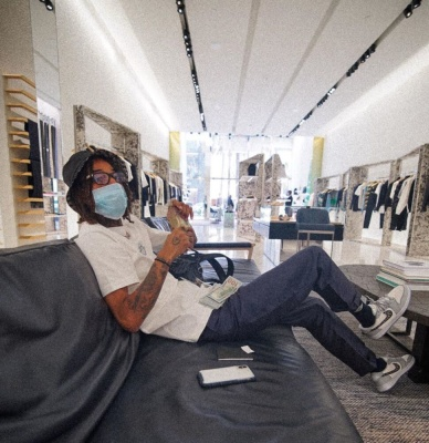Pnb Roch Goes Chrome Hearts Shopping In Full Air Dior Fit
