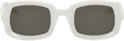 Pnb Rock White Sunglasses