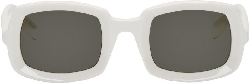 Pnb Rock White Sunglasses
