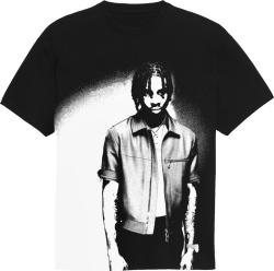 Black & White 'Spotlight' Merch T-Shirt
