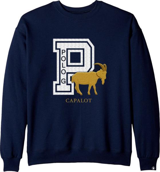 Polo G Navy Capalot Goat Sweatshirt