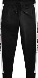 Polo Ralph Lauren Black And White Stripe Polo Sport Trackpants